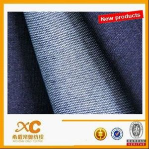 High Spandex Knitted Denim Fabric