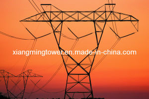Galvanized Power Transmission Angle Steel Tower