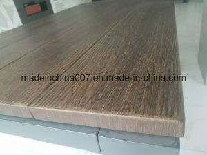 Wooden Grain Cement Board for Furniture Table Top pictures & photos