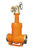 Pressure Seal Gate Valve Gear Operation pictures & photos