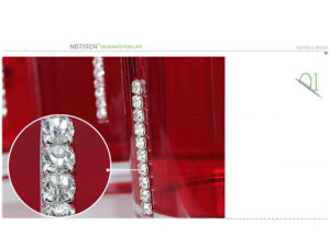 Acrylic/Plastic Crystal Bathroom Accessories Set (TS8002-7) pictures & photos