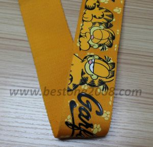 Factory High Quality Printing Webbing for Garment #1312-2 pictures & photos
