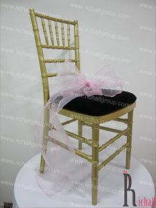 Wood Wedding Chair (RCR-027)