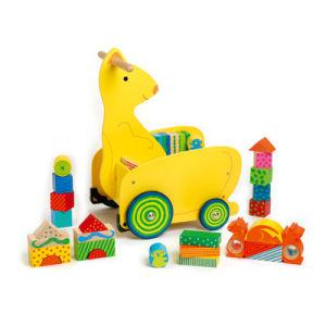 Wooden Kangaroo Cart Toys(810011)