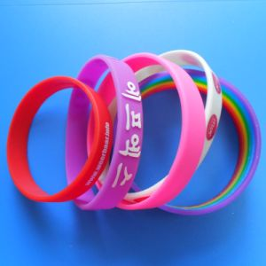 Promotion Rubber Silicone Bracelet (AS-SB-LU-039) pictures & photos