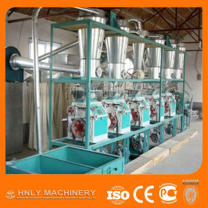 Factory Price Small Scale Corn Flour Mill Machine pictures & photos