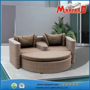 UV Resistance Rattan Outdoor Furniture 3PCS Selectional Sofa Set pictures & photos