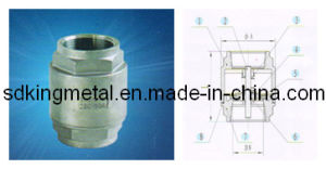 Stainless Steel CF8 2PC-Spring Vertical Check Valves pictures & photos