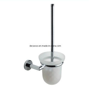 Sand-Blasted Glass Stainless Steel Toilet Brush (DCS-7305) pictures & photos
