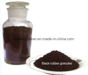 Black Rubber Granule