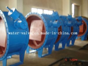 Butterfly Buffering Check Valve with Counter Weight