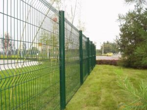 Wire Mesh Fence with Triangle Bends (DJ-243)