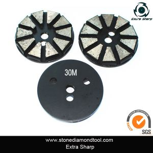 Gift16/18 Hot Sale Diamond Concrete Polishing Pads for Angle Grinder pictures & photos