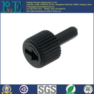 Customized Black PP Injection Molding Knob Fittings pictures & photos
