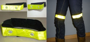Reflective Armband/Legband With LED (GT-9059)