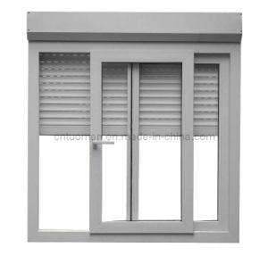 Aluminium Sliding Window, Roller Shutter and Retractable Mosquito Net (Monoblock) pictures & photos
