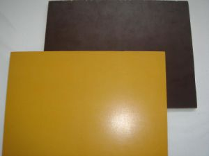 Yellow Film Faced Plywood pictures & photos