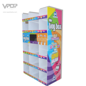 War-Mart Half Pallet Display with LCD Screen for Toys pictures & photos
