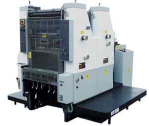 Two Colors Offset Printing Machine pictures & photos
