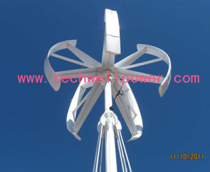 Maglev Designed Vertical Axis Wind Mill 5kw