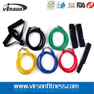 Fitness Latex Resistance Tube Set Kit