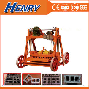 Qmy4-45 Egg Layer Cement Concrete Block Making Machine Hollow Block Machine, Mobile Construction Equipment pictures & photos