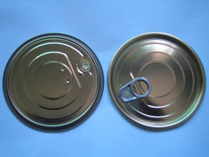 Tinplate Easy Open End (401 Dia for Packing Tomato Paste)