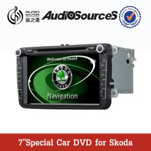 8′ Car Audio System for Skoda Fabia/Superb/Octavia with 3G/DVD/Bt/GPS/Pip/10CD/DVBT/Tmc/OPS/AC/iPhone/iPod/Radio/RDS/Pip Function