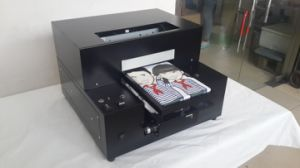 High Speed A3 A4 Size UV LED Digital Flatbed Printer for T-Shirts