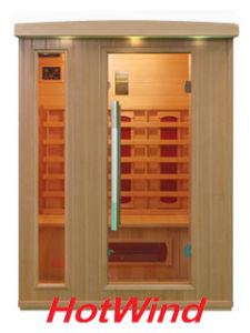 2016 Far Infrared Sauna Room Wooden Sauna for 3 People (SEK-BP3) pictures & photos