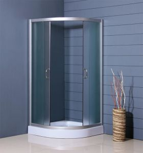 Frosted Glass Shower Enclosure with Whole Sale Prices pictures & photos