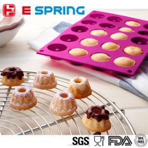 Bundt Cake Molds Silicone Baking Cupcake DIY Fancy Savarin Pan pictures & photos