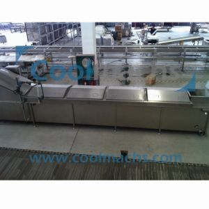 Industrial Steam Blanching/Cooker Machine for Vegetable Process pictures & photos