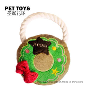 Christmas Sounding Plush Pet Toys Santa Claus Toys pictures & photos