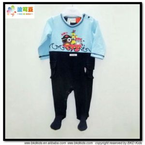 Footed Style Baby Garment OEM Service Newborn Jumpsuits pictures & photos
