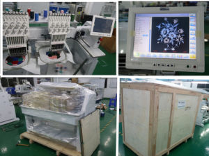 2 Head Used Cap Embroidery Machines in South Korea pictures & photos