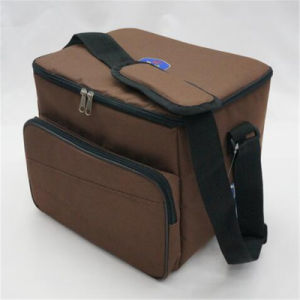 Simple Diagonal Ice Pack Thermal Insulation Bag Lunch Bag (GB#165A) pictures & photos