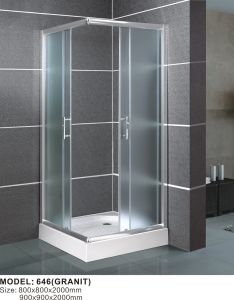 Tempered Glass with En12150/Csi/3c Certification Simple Shower Enclosure pictures & photos