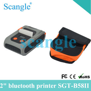 58mm Portable Bluetooth Thermal Printer Sgt58V pictures & photos