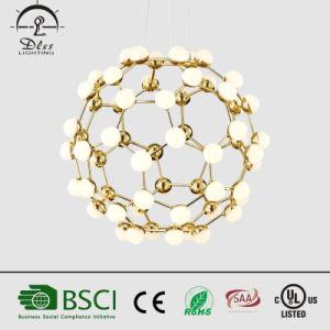 Gold Ball Energy Saving Lighting Huge Hanging Lamp pictures & photos