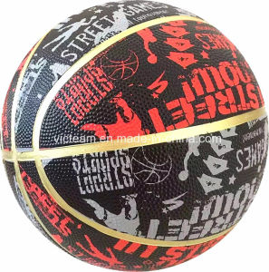 Wholesale Colorful Mini Rubber Basketball for Kids pictures & photos