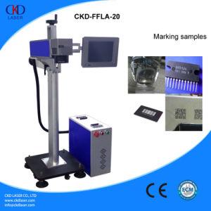 20W Fiber Laser Marking Machine for Online Flight Marking pictures & photos