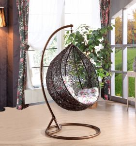 Modern Leisure Wicker Patio Outdoor Home Office Hotel Dia5.0mm Wicker Hanging Chair (J811) pictures & photos
