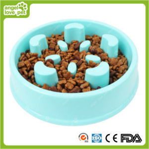 Anti Choking Pet Bowl Slow Food Pet Supplies pictures & photos