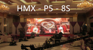 Indoor Outdoor Rental Full Color LED Display/Advertising Screen with 500X1000mm Panel P5 pictures & photos