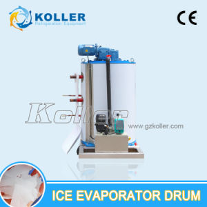 2500kg/Day Flake Ice Machine Evaporator Drum with Scrath-Style System pictures & photos