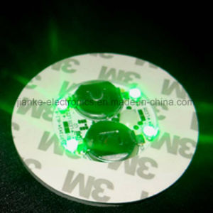 Colorful LED Bottle Lights Sticker with Logo Printed (4040) pictures & photos