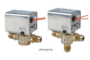 2 Port 3 Way Hydronic Motorised Heating Zone Valves (HTW-W27-F) pictures & photos