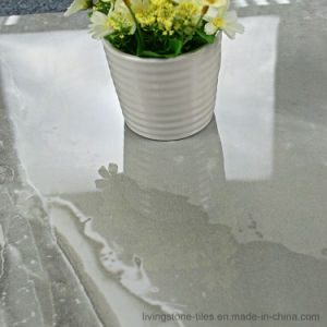 Gray Marble Copy porcelain Stone Tile of 3D Inkjet Floor Tile pictures & photos