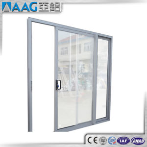 Aluminium Wooden Color Door pictures & photos